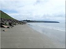 SH1726 : Western end of the beach at Aberdaron by Eirian Evans