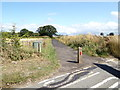 TG2014 : Cycle Track to the A140 Cromer Road by Geographer