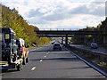 TL4646 : Southbound M11, Bridges at Junction 10 by David Dixon