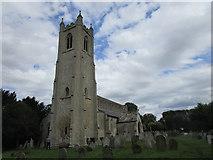 TF5315 : Church of St. John, Terrington by Jonathan Thacker