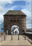 SO5012 : Monnow Bridge, Monmouth by John Allan