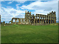 NZ9011 : Whitby Abbey from the south-west by Stephen Craven
