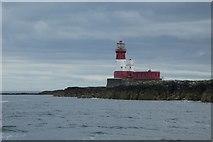 NU2438 : Longstone Lighthouse by DS Pugh