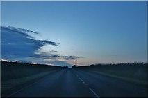 TA1671 : The A165 north of Bridlington by David Howard