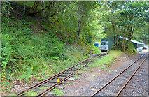 SH6505 : Quarry Siding, Talyllyn Railway by Des Blenkinsopp