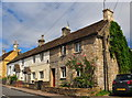 ST8080 : Cottages, The Street, Acton Turville, Gloucestershire 2019 by Ray Bird