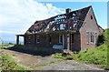 NZ8213 : Ruined building along Goldsborough Lane by Mat Fascione