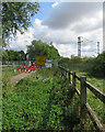 TL4760 : Stourbridge Common: path closed for a year by John Sutton