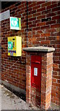 SU1659 : King George V postbox, Green Drove near Pewsey by Jaggery