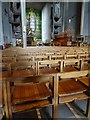 SP3379 : Chairs in Coventry Cathedral by Philip Halling