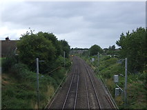 SJ9220 : Railway towards Stafford by JThomas