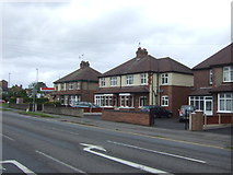 SJ9220 : Houses on Rickerscote Road by JThomas