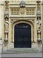 SO9421 : Doorway to Cheltenham College Chapel by Philip Halling
