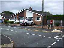 SJ9220 : Bungalow on Hill Farm Close, Moss Pit, Stafford by JThomas