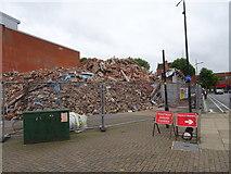 SO9198 : Garrick Street Demolition by Gordon Griffiths