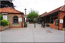 TG0738 : Entrance to Appleyard from Kerridge Way, Holt, Norfolk by P L Chadwick