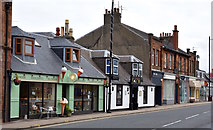 NS3525 : Prestwick Main Street, South Ayrshire by Mark S