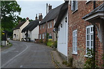 ST8010 : Higher Street, Okeford Fitzpaine by David Martin