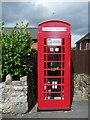 SJ2633 : Former telephone kiosk, Selattyn by Humphrey Bolton