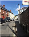 SX9073 : East on Fore Street, Bishopsteignton by Robin Stott