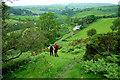 SO2676 : Approaching Garbett Hall on the Offa's Dyke Path by Jeff Buck