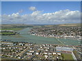 TQ2104 : River Adur from the air by Paul Gillett