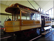 NS5565 : Single deck tramcar 672 in the Riverside Museum by David Hillas