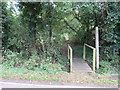 TL5202 : Public footpath, Clatterford End, near Ongar by Malc McDonald
