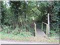TL5202 : Public footpath, Clatterford End, near Ongar by Malc McDonald