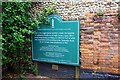 TG0738 : Information board, Appleyard shopping centre, Holt, Norfolk by P L Chadwick