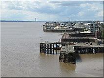 TA1028 : Victoria Pier, Hull by Rudi Winter