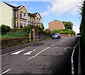 ST1598 : Gwerthonor Road speed bumps, Gilfach by Jaggery