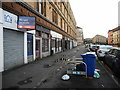 NS5866 : Pavement, Maryhill Road by Richard Sutcliffe