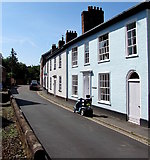 SS9512 : West side of St Andrew Street, Tiverton by Jaggery