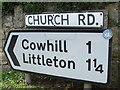 ST6092 : Walking around the villages by Neil Owen