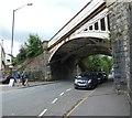 SK0181 : Buxton Road Railway Bridge by Gerald England
