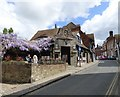 TQ9120 : The Old Bell. The Mint and High Street by Gerald England