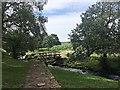 SK2680 : Footbridge over Burbage Brook by Graham Hogg