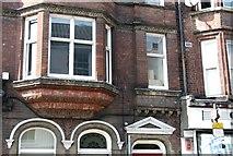 TG2309 : 2 Magdalen Street - decorative brickwork by Evelyn Simak