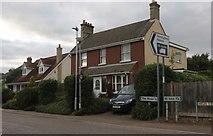 TL2970 : High Street,  Hemingford Grey by David Howard