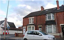 SK9035 : Houses on Harlaxton Road, Grantham by David Howard