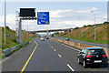 S1485 : Westbound M7 at Junction 22 by David Dixon