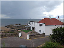 NO4202 : The Temple, Lower Largo by Andrew Curtis