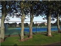 NT6779 : Dunbar Tennis Courts by Jennifer Petrie