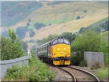 SO1106 : Class 37 near Pontlottyn by Gareth James