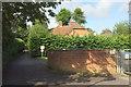 SU8446 : End of Morley Road, Farnham by Derek Harper