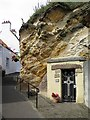 NO5402 : St Fillan's Cave, Cove Wynd, Pittenweem by Andrew Curtis