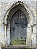 SK9324 : 13th century doorway by Mat Fascione