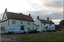 TL2249 : King Street at the junction of Gamlingay Road, Potton by David Howard