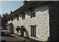 SX7881 : Cottages, Lustleigh by Derek Harper